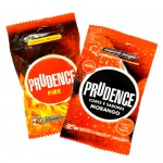 Prudence Fire Hot 3's & Strawberry 3's Condom