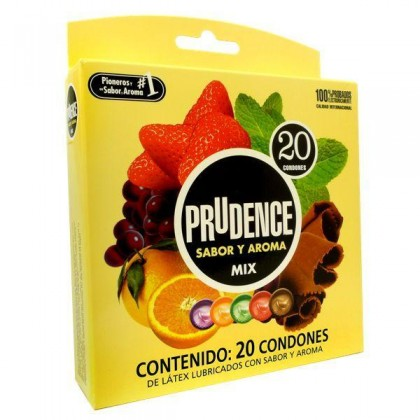 Prudence Condom - Mix Aroma 20's Flavours