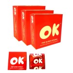 OK Condom- Five Super Strong Condom 5pcs x 3pkt