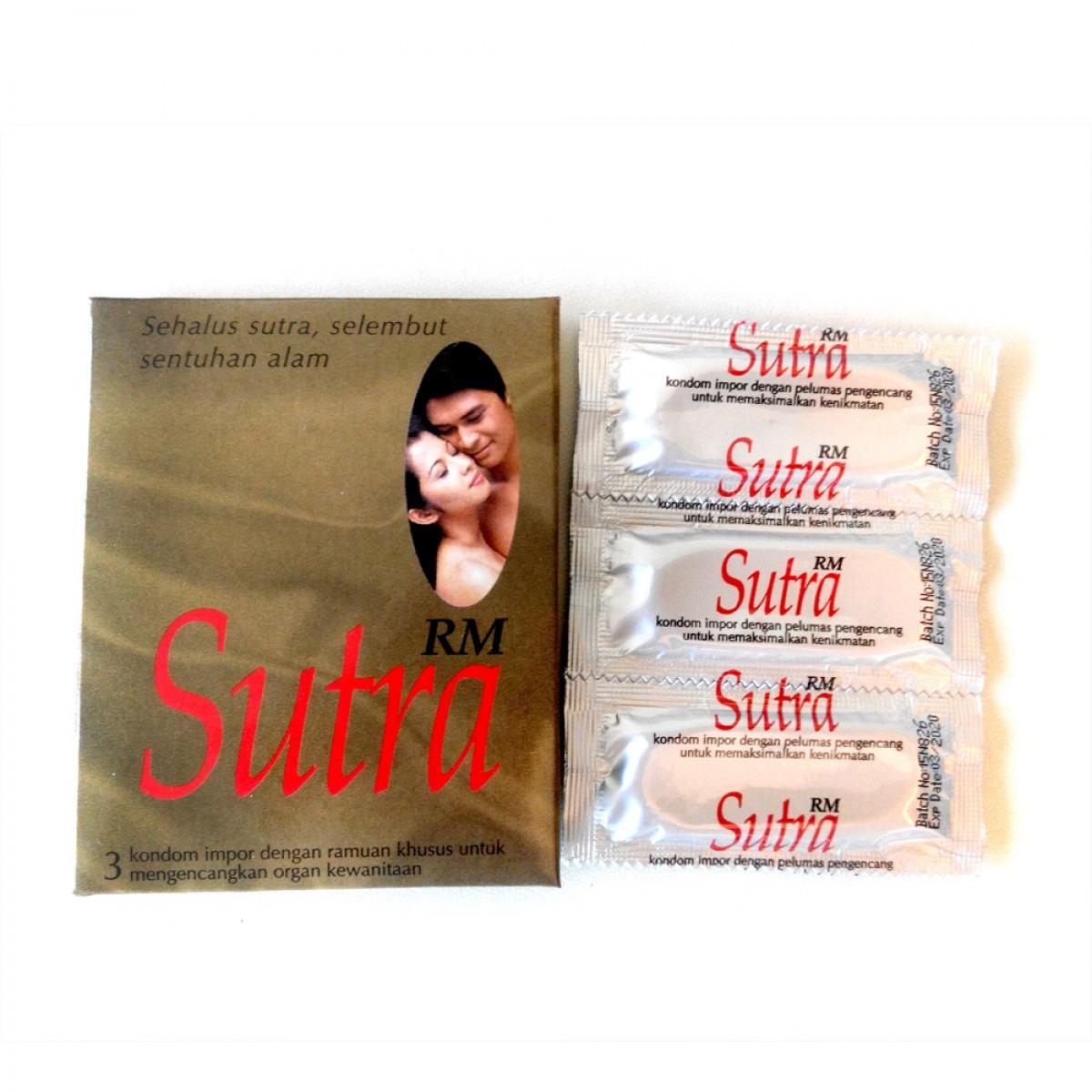 Sutra Rm Manjakani V Tightening Condom 3s Fiesta Lubricant Strawberry Pelumas