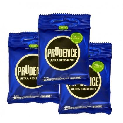 Prudence Ultra Resistente (STRONG+SAFE) Condom 3pcs x 3pkt