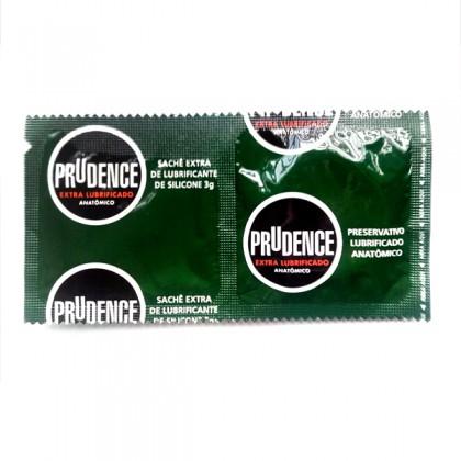 Prudence Extra Lubrificado Condoms (3's + 3 lub x 2set ) Lubricant Condom