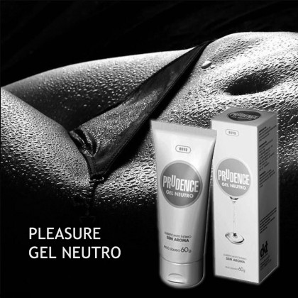 Prudence Play Gel Neutro- Natural waterbased lubricant 60g