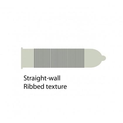 Fiesta Ribbed Texture 3pcs Condom