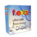 Fiesta Ultra Safe 3pcs Condom