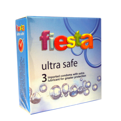 Fiesta Ultra Safe 3pcs Condom