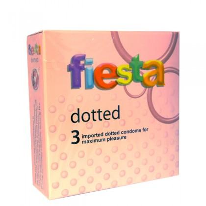 Fiesta Dotted Condom 3's