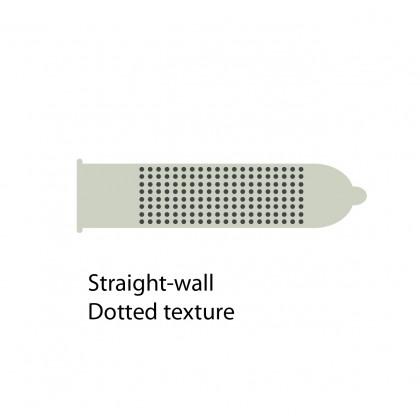 Fiesta Dotted Condom 3's x 3pkt