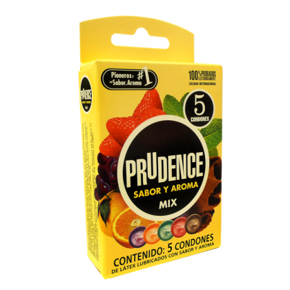 Prudence Condom - Mix 5's Flavour
