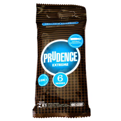 Prudence Extreme Condom - Textured, Dotted, Contoured Shape