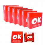 OK Condom- Five Super Strong Condom 5pcs x 6pkt