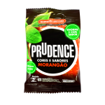 Prudence Extra Large XL Strawberry Condom 3pcs