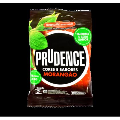 Prudence Extra Large XL Strawberry Condom 3pcs
