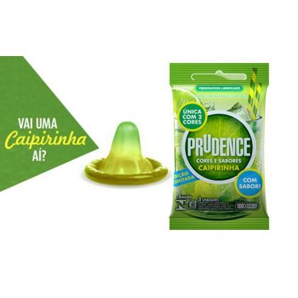 Prudence Caipirinha Cocktail Flavoured Condom 3's