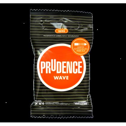 Prudence Wave Condom 3'sx3pkt FOC Prudence Banana 3's Condom 1pkt