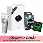 Cute Vibrator, Neutro Play Gel, Ultra Sensitive 3s & Neon Condom 1s