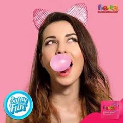Fiesta Bubble Gum Condom 3s