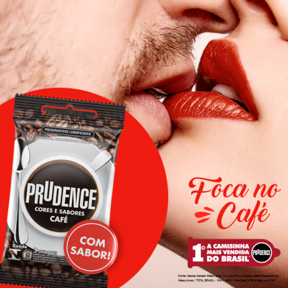 Prudence Cafe Coffee Flavour Condom 3s