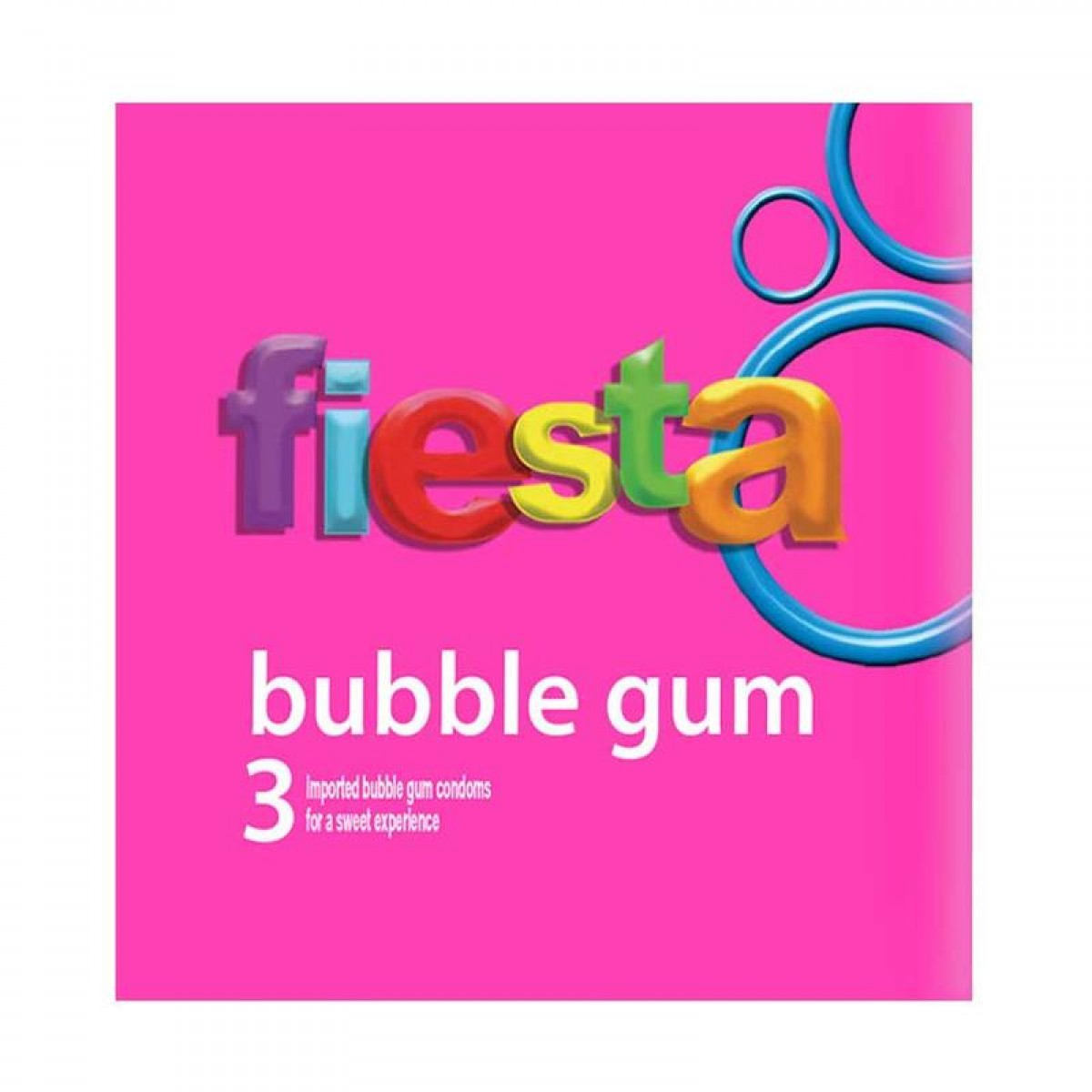 Fiesta Neon Extreme Bubblegum 3s X 3pkt Kondom