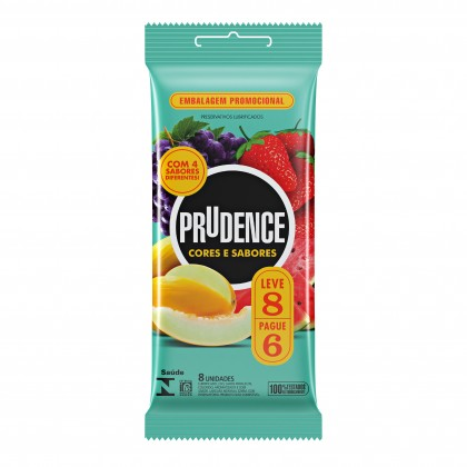 Prudence C&T Mix Fruity 8's Condom (Teal)